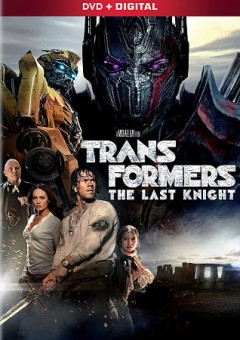 Transformers : the last knight / Paramount Pictures presents ; in association with Huahua Media, Weying Galaxy, The H Collective ; in association with Hasbro ; directed by Michael Bay ; screenplay by Art Marcum, Matt Holloway, Ken Nolan ; story by Akiva Goldsman and Art Marcum, Matt Holloway, Ken Nolan ; produced by Lorenzo di Bonaventura, Tom DeSanto & Don Murphy, Ian Bryce ; a Don Murphy/Tom DeSanto production ; a di Bonaventura Pictures production ; an Ian Bryce production ; a Michael Bay film. - Paramount Pictures presents ; in association with Huahua Media, Weying Galaxy, The H Collective ; in association with Hasbro ; directed by Michael Bay ; screenplay by Art Marcum, Matt Holloway, Ken Nolan ; story by Akiva Goldsman and Art Marcum, Matt Holloway, Ken Nolan ; produced by Lorenzo di Bonaventura, Tom DeSanto & Don Murphy, Ian Bryce ; a Don Murphy/Tom DeSanto production ; a di Bonaventura Pictures production ; an Ian Bryce production ; a Michael Bay film.