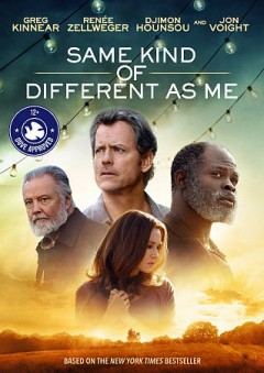 Same kind of different as me /  Paramount Pictures presents ; a Disruption Entertainment production ; produced by Mary Parent, Cale Boyter, Darren Moorman, Stephen Johnston, Ron Hall ; screenplay by Michael Carney & Alexander Foard and Ron Hall ; directed by Michael Carney. - Paramount Pictures presents ; a Disruption Entertainment production ; produced by Mary Parent, Cale Boyter, Darren Moorman, Stephen Johnston, Ron Hall ; screenplay by Michael Carney & Alexander Foard and Ron Hall ; directed by Michael Carney.