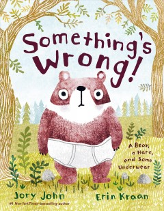 Something's wrong! : a bear, a hare, and some underwear / Jory John ; pictures by Erin Kraan.