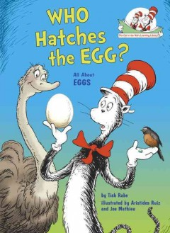 Who hatches the egg? : all about eggs / by Tish Rabe ; illustrated by Aristides Ruiz and Joe Mathieu. - by Tish Rabe ; illustrated by Aristides Ruiz and Joe Mathieu.