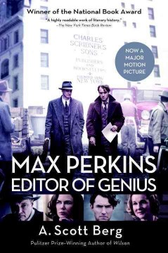 Max Perkins, editor of genius /  A. Scott Berg.