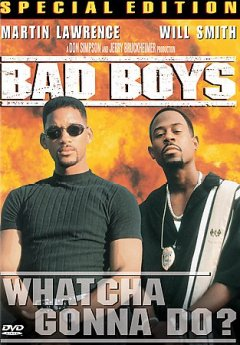 Bad boys /  Columbia Pictures presents ; a DonSimpson/Jerry Bruckheimer production ; screenplay by Michael Barrie & Jim Mulholland and Doug Richardson ; produced by Don Simpson, Jerry Bruckheimer ; directed by Michael Bay.