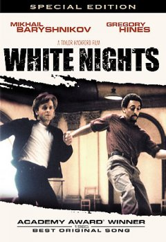 White nights /  Columbia Pictures presents ; a New Visions production ; a Taylor Hackford film ; screenplay by James Goldman and Eric Hughes ; story by James Goldman ; produced by Taylor Hackford and William S. Gilmore ; directed by Taylor Hackford.