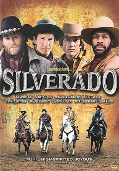 Silverado /  Columbia Pictures presents a Lawrence Kasdan film ; written by Lawrence Kasdan & Mark Kasdan ; produced and directed by Lawrence Kasdan. - Columbia Pictures presents a Lawrence Kasdan film ; written by Lawrence Kasdan & Mark Kasdan ; produced and directed by Lawrence Kasdan.