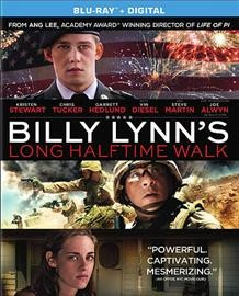 Billy Lynn's long halftime walk /  Tristar Pictures presents ; produced by Marc Platt, Ang Lee, Rhodri Thomas, Stephen Cornwell ; screenplay by Jean-Christophe Castelli ; directed by Ang Lee. - Tristar Pictures presents ; produced by Marc Platt, Ang Lee, Rhodri Thomas, Stephen Cornwell ; screenplay by Jean-Christophe Castelli ; directed by Ang Lee.