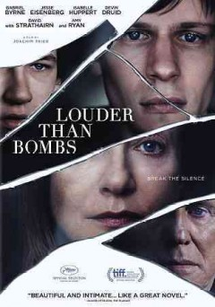 Louder than bombs /  the Orchard, Motlys and Memento Films present ; a film by Joachim Trier ; produced by Thomas Robsahm, Joshua Astrachan, Albert Berger, Ron Yerxa, Marc Turtletaub, Alexandre Mallet-Guy ; written by Eskil Vogt & Joachim Trier ; directed by Joachim Trier ; a Motlys, Memento Films production, Nimbus Film production in association with Animal Kingdom, Beachside Films, Memento Films Distribution, Memento Films International, Bona Fide Productions ; in co-production with Arte France Cinema, Don't Look Now.