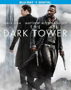 The dark tower /  Columbia Pictures and MRC present, in association with Imagine Entertainment, a Weed Road production ; screenplay by Akiva Goldsman & Jeff Pinkner and Anders Thomas Jensen & Nikolaj Arcel ; produced by Akiva Goldsman, Ron Howard, Erica Huggins ; directed by Nikolaj Arcel. - Columbia Pictures and MRC present, in association with Imagine Entertainment, a Weed Road production ; screenplay by Akiva Goldsman & Jeff Pinkner and Anders Thomas Jensen & Nikolaj Arcel ; produced by Akiva Goldsman, Ron Howard, Erica Huggins ; directed by Nikolaj Arcel.