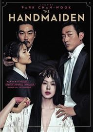 The handmaiden = Agassi / Amazon Studios presents in association with CJ Entertainment a Moho Film and Yong Film production ; screenplay by Chung Seo-Kyung, Chan wook-Park ; produced by Park Chan-wook, Syd Lim ; director, Chan-wook Park. - Amazon Studios presents in association with CJ Entertainment a Moho Film and Yong Film production ; screenplay by Chung Seo-Kyung, Chan wook-Park ; produced by Park Chan-wook, Syd Lim ; director, Chan-wook Park.