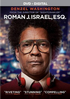 Roman J. Israel, Esq. /  Columbia Pictures presents ; in association with Marco Media [and others] ; a Jennifer Fox/Escape Artists production ; produced by Jennifer Fox, Todd Black, Denzel Washington ; written and directed by Dan Gilroy.