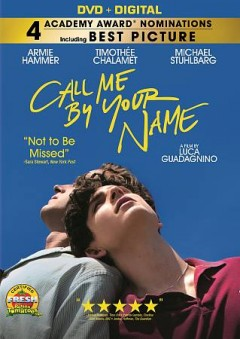 Call me by your name /  Sony Pictures Classics presents ; in association with Memento Films International and RT Features ; in association with M.Y.R.A. Entertainment ; a Frenesy Film la Cinéfacture co-production ; produced by Peter Spears, Luca Guadagnino, Emilie Georges, Rodrigo Teixeira, Marco Morabito, James Ivory, Howard Rosenman ; screenplay by James Ivory ; directed by Luca Guadagnino. - Sony Pictures Classics presents ; in association with Memento Films International and RT Features ; in association with M.Y.R.A. Entertainment ; a Frenesy Film la Cinéfacture co-production ; produced by Peter Spears, Luca Guadagnino, Emilie Georges, Rodrigo Teixeira, Marco Morabito, James Ivory, Howard Rosenman ; screenplay by James Ivory ; directed by Luca Guadagnino.