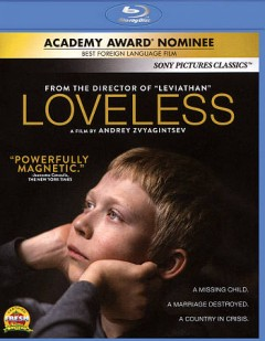 Loveless /  Non-Stop Production presents ; director, Andrey Zvyagintsev ; producers, Alexander Rodnyansky, Sergey Melkumov, Gleb Fetisov ; script, Oleg Negin, Andrey Zvyagintsev. - Non-Stop Production presents ; director, Andrey Zvyagintsev ; producers, Alexander Rodnyansky, Sergey Melkumov, Gleb Fetisov ; script, Oleg Negin, Andrey Zvyagintsev.