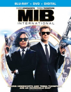 Men in black international /  Columbia Pictures presents in association with Tencent Pictures ; an Amblin Entertainment production in association with Parkes+MacDonald Image Nation ; produced by Walter E. Parkes and Laurie MacDonald ; written by Art Marcum & Matt Holloway ; directed by F. Gary Gray. - Columbia Pictures presents in association with Tencent Pictures ; an Amblin Entertainment production in association with Parkes+MacDonald Image Nation ; produced by Walter E. Parkes and Laurie MacDonald ; written by Art Marcum & Matt Holloway ; directed by F. Gary Gray.