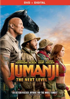 Jumanji : the next level / director, Jake Kasdan ; writers, Jake Kasdan, Jeff Pinkner, Scott Rosenberg. - director, Jake Kasdan ; writers, Jake Kasdan, Jeff Pinkner, Scott Rosenberg.