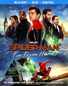 Spider-man : far from home / Columbia Pictures presents ; a Marvel Studios/Pascal Pictures production ; directed by Jon Watts ; written by Chris McKenna, Erik Sommers ; produced by Kevin Feige, Amy Pascal. - Columbia Pictures presents ; a Marvel Studios/Pascal Pictures production ; directed by Jon Watts ; written by Chris McKenna, Erik Sommers ; produced by Kevin Feige, Amy Pascal.