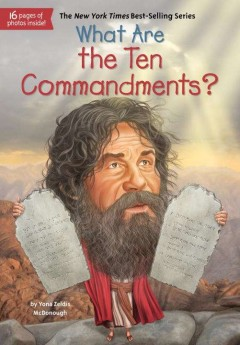 What are the ten commandments? /  by Yona Zeldis McDonough ; illustrated by Tim Foley.