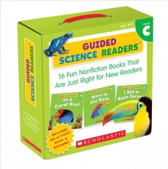 Guided science readers Level C : 16 fun nonfiction books that are just right for new readers.