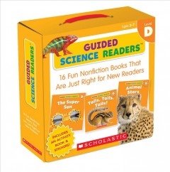 Guided science readers.