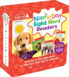 Nonfiction Sight Word Readers. teaches 25 key sight words to help your child soar as a reader! / by Liza Charlesworth.