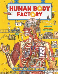 Human body factory : the nuts and bolts of your insides! / written by Dan Green ; illustrated by Edmond Davis - written by Dan Green ; illustrated by Edmond Davis