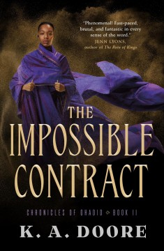 The impossible contract /  K.A. Doore.