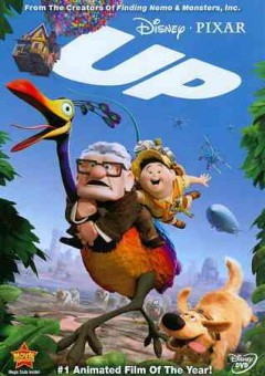 Up /  Walt Disney Pictures presents a Pixar Animation Studios film ; produced by Jonas Rivera ; story by Pete Docter, Tom McCarthy, Bob Peterson ; screenplay by Bob Peterson, Pete Docter ; directed by Pete Docter, Bob Peterson.