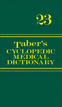 Taber's cyclopedic medical dictionary /  editor, Donald Venes.