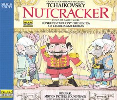 Nutcracker : original motion picture soundtrack : complete ballet score / Tchaikovsky.