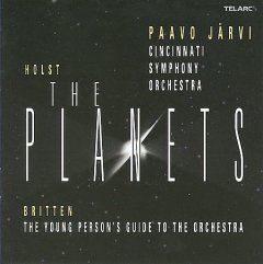 The planets, op. 32 /  Holst. The young person's guide to the orchestra, op. 34 / Britten.