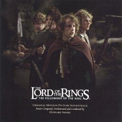 The lord of the rings, the fellowship of the ring : [soundtrack] / music composed, orchestrated and conducted by Howard Shore.