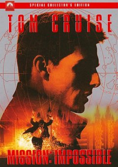 Mission: impossible /  Paramount Pictures presents a Cruise/Wagner production ; a Brian De Palma film ; screenplay by David Koepp and Robert Towne ; produced by Tom Cruise and Paula Wagner ; directed by Brian De Palma.