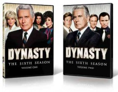 Dynasty : the sixth season [8-disc set] / Spelling Television Inc. ; written by Edward DeBlasio [and others] ; created by Esther Shapiro, Richard Shapiro ; directed by Robert Scheerer [and others]. - Spelling Television Inc. ; written by Edward DeBlasio [and others] ; created by Esther Shapiro, Richard Shapiro ; directed by Robert Scheerer [and others].