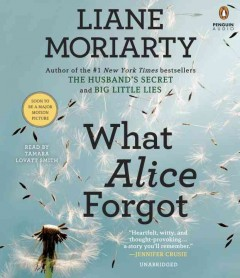 What Alice forgot /  Liane Moriarty.