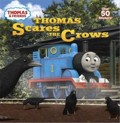 Thomas scares the crows.