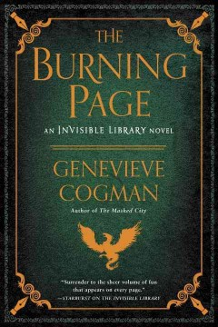 The burning page : an invisible library novel / Genevieve Cogman.