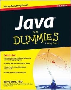 Java for dummies /  by Barry Burd.