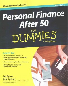 Personal finance after 50 /  by Eric Tyson and Robert Carlson.