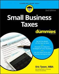 Small business tax kit for dummies /  Eric Tyson.