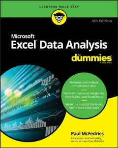 Excel data analysis for dummies /  by Paul McFedries.