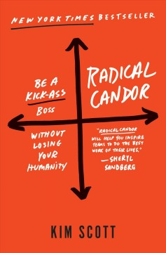 Radical candor : how to be a kickass boss without losing your humanity / Kim Scott. - Kim Scott.
