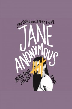 Jane anonymous : a novel / Laurie Faria Stolarz.