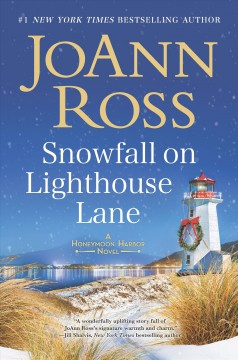 Snowfall on Lighthouse Lane /  by JoAnn Ross.