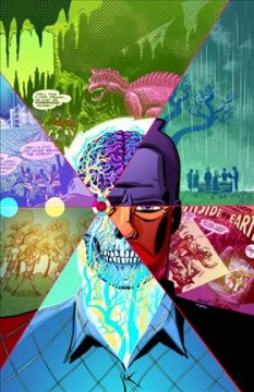 Cave Carson has a cybernetic eye Volume 1, Going underground /  Jon Rivera, Gerard Way, writers ; Michael Avon Oeming, artist ; Nick Filardi, colorist ; Clem Robins, letterer ; Michael Avon Oeming, cover art and original series covers. - Jon Rivera, Gerard Way, writers ; Michael Avon Oeming, artist ; Nick Filardi, colorist ; Clem Robins, letterer ; Michael Avon Oeming, cover art and original series covers.