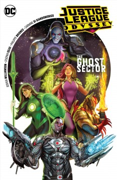 Justice League odyssey Volume 1 :  Joshua Williamson, writer ; Stjepan Sejic, Philippe Briones, Carmine Di Giandomenico, artists ; Stepjan Sejic, Jeromy Cox, Ivan Plascencia, colorists ; Deron Bennett, letterer ; Stepjan Sejic, collection and series cover artist. - Joshua Williamson, writer ; Stjepan Sejic, Philippe Briones, Carmine Di Giandomenico, artists ; Stepjan Sejic, Jeromy Cox, Ivan Plascencia, colorists ; Deron Bennett, letterer ; Stepjan Sejic, collection and series cover artist.