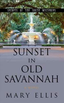 Sunset in Old Savannah /  by Mary Ellis. - by Mary Ellis.