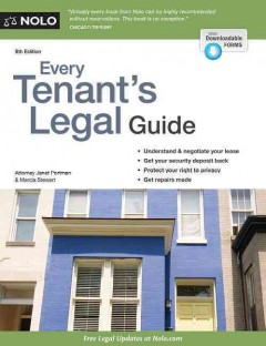 Every tenant's legal guide /  Attorney Janet Portman and Marcia Stewart. - Attorney Janet Portman and Marcia Stewart.