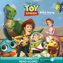 Toy story read-along storybook.