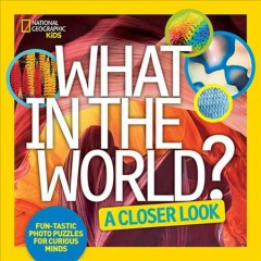 What in the world? : a closer look / Julie Vosburgh Agnone. - Julie Vosburgh Agnone.