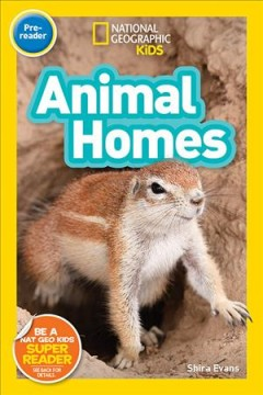 Animal homes /  Shira Evans.