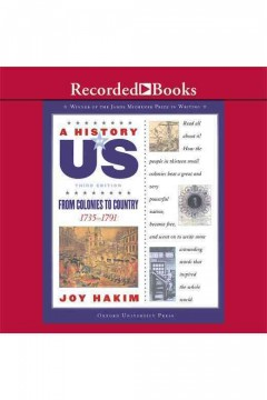 From colonies to country /  by Joy Hakim.