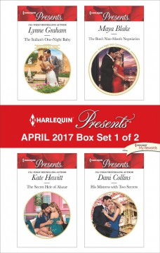 Harlequin presents April 2017 : box set 1 of 2 / Lynne Graham [and 3 others].